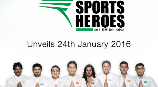 The Sports Heroes - a revolution