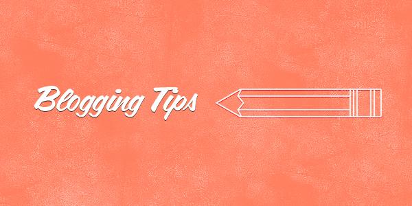 Blogging Tips for 2016