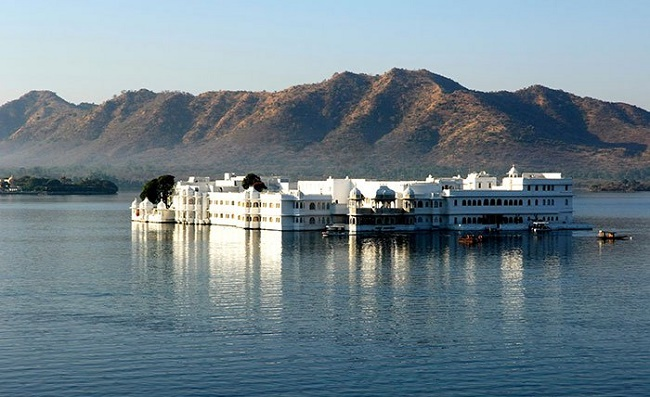 One of the most romantic spots in Udaipur, the Lake Palace
