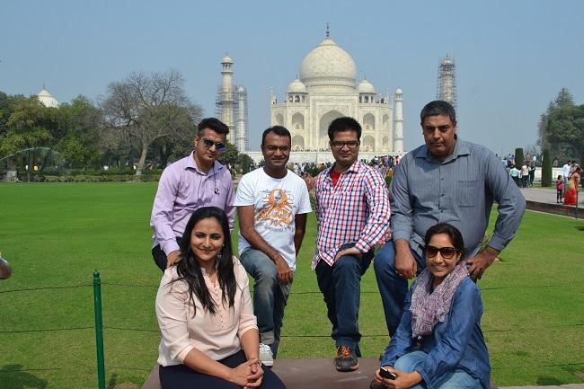 Exploring Agra - The Taj Affair