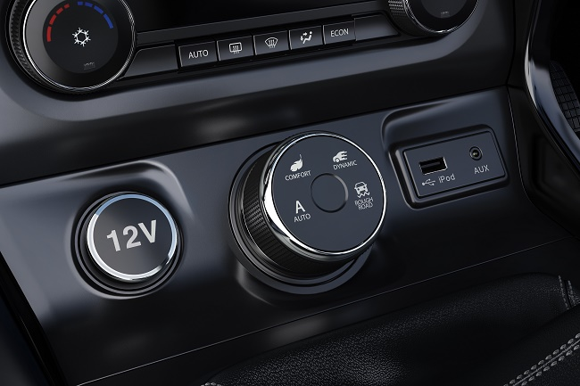 Super Drive Modes - Auto, Comfort, Dynamic and Rough Road