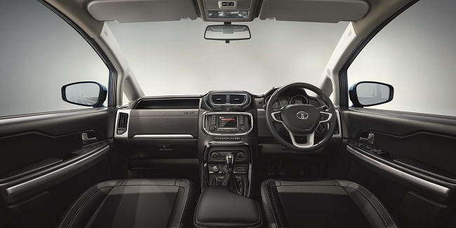 Tata Hexa - CONNECTNEXT Infotainment system