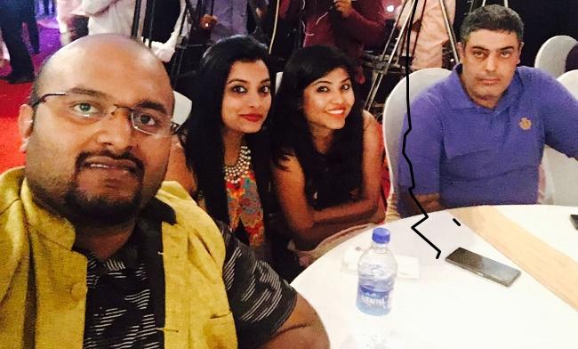 With macro traveller Nivedith Gajapathy, Kavita Manoj Bhoite and Shruti Bondal Pinto