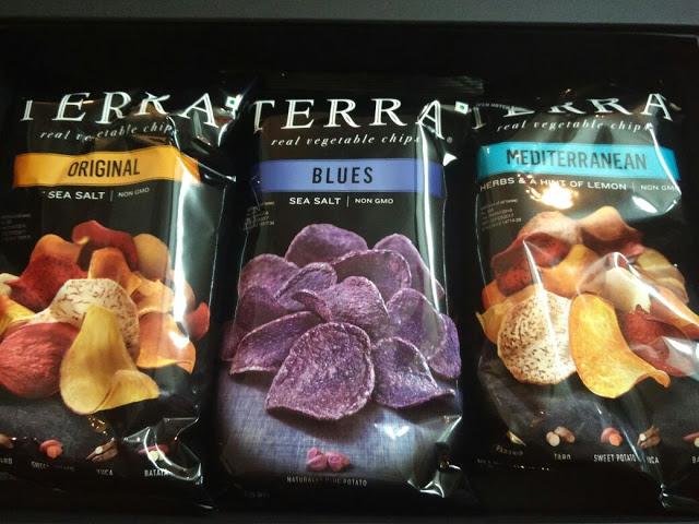 Terra Real Vegetable Chips - Terra Original, Terra Blues and Terra Mediterranean