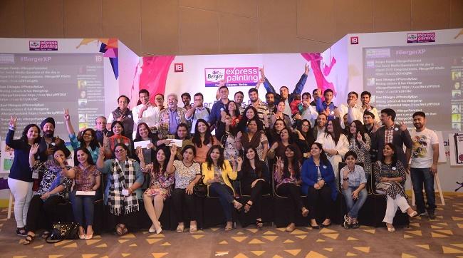 #BergerXP IndiBlogger Meet at Vivanta by Taj, New Delhi